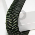 Edging tape pa r 4226 22mm black khaki twill